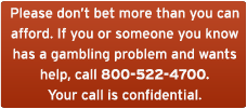 gambling problem need help